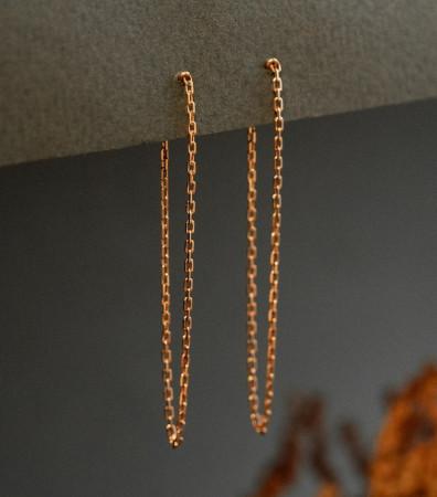 Сережки «МОНОСТРУНА» (10 см)