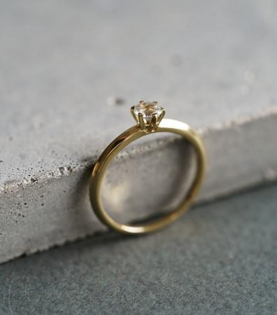 """Каблучка """"МРІЇ"""" (камінь від 4 до 6 мм)"""