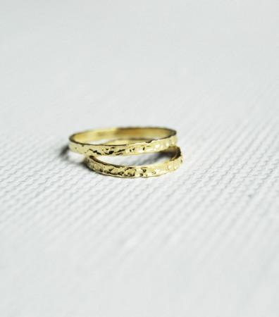 """Пара обручок """"МАГМА"""" (2 і 2 мм)"""