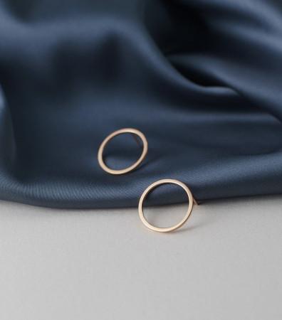 Сережки «ПОЗИТИВНА КАРМА» (20 мм)